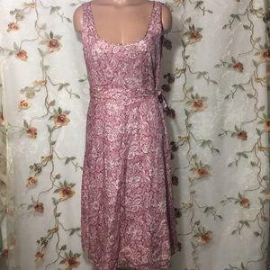 ✨ J Crew Floral 100% Cotton Dress